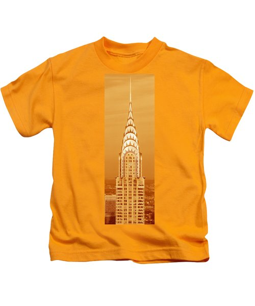 This Is A Sepiatone Close Kids T-Shirt by Panoramic Images