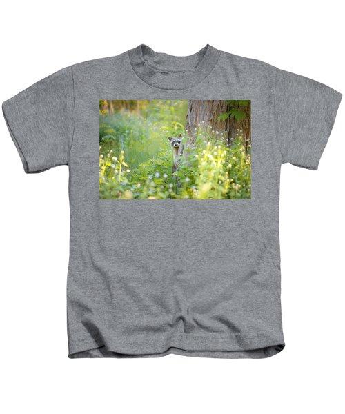 Peek A Boo Kids T-Shirt by Carrie Ann Grippo-Pike