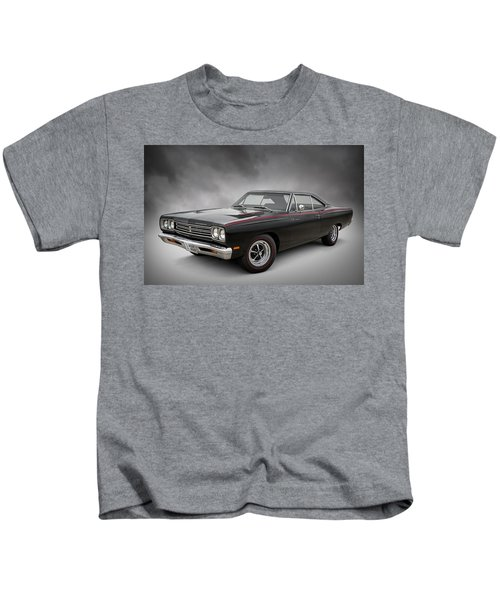 '69 Roadrunner Kids T-Shirt by Douglas Pittman
