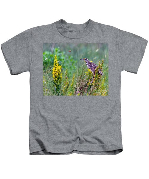 A Golden Opportunity Kids T-Shirt by Gary Holmes