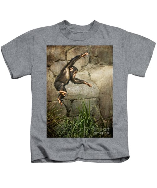 Jump For Joy Kids T-Shirt by Jamie Pham