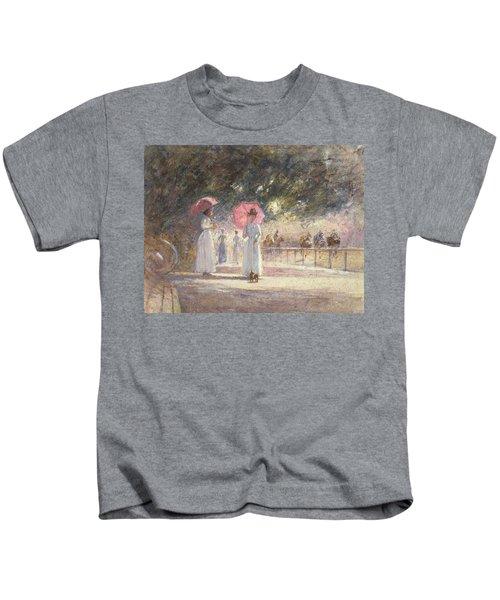 Rotten Row Kids T-Shirt by Harry Fidler