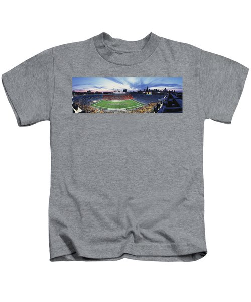 Soldier Field Football, Chicago Kids T-Shirt by Panoramic Images