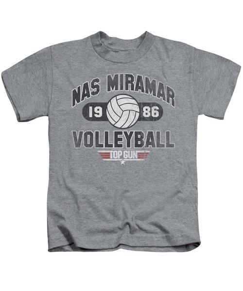 Top Gun - Nas Miramar Volleyball Kids T-Shirt by Brand A