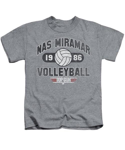 Top Gun - Nas Miramar Volleyball Kids T-Shirt by Brand A