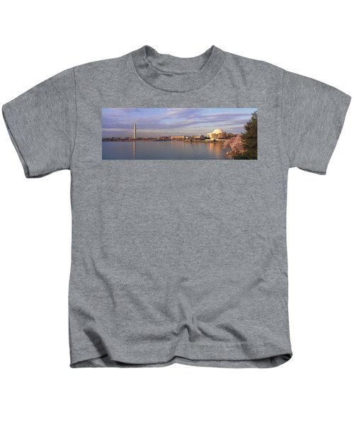 Usa, Washington Dc, Tidal Basin, Spring Kids T-Shirt by Panoramic Images