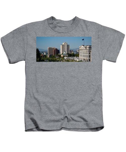 Utah State Capitol Building, Salt Lake Kids T-Shirt by Panoramic Images