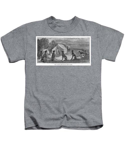 Mango Hummingbird Kids T-Shirt by Granger
