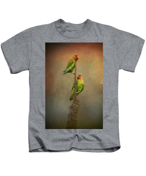 Up And Away We Go Kids T-Shirt by Saija  Lehtonen