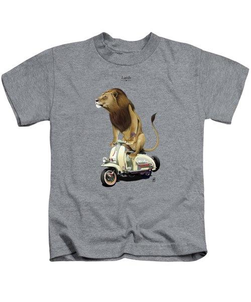 Lamb Kids T-Shirt by Rob Snow