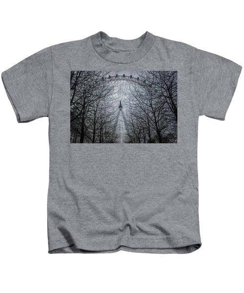 London Eye Kids T-Shirt by Martin Newman
