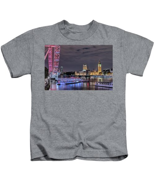 Westminster - London Kids T-Shirt by Joana Kruse