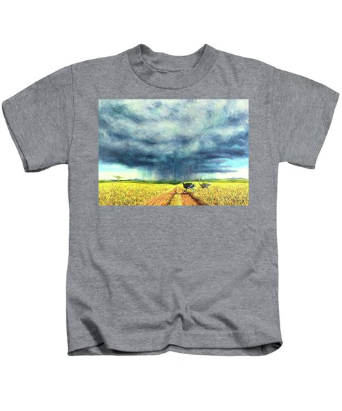 African Storm Kids T-Shirt by Tilly Willis