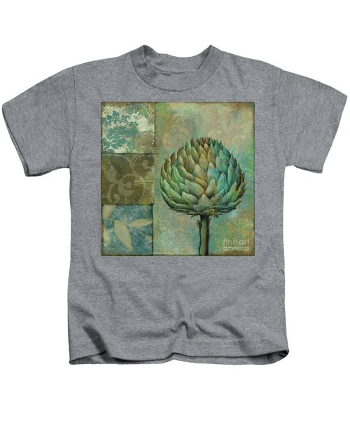 Artichoke Margaux Kids T-Shirt by Mindy Sommers