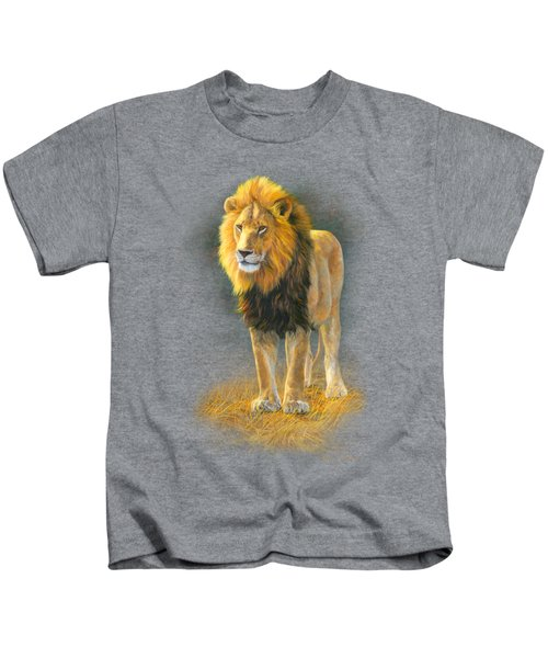In His Prime Kids T-Shirt by Lucie Bilodeau
