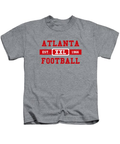 Atlanta Falcons Retro Shirt 2 Kids T-Shirt by Joe Hamilton