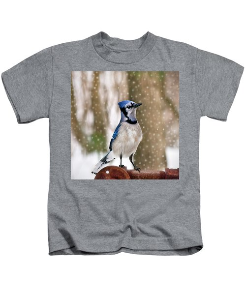 Blue For You Kids T-Shirt by Evelina Kremsdorf