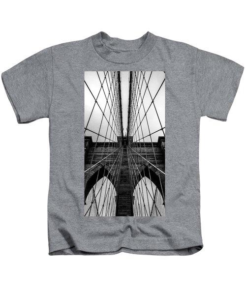 Brooklyn's Web Kids T-Shirt by Az Jackson