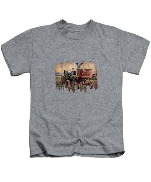 Buffalo Pitts Kids T-Shirt by Thom Zehrfeld
