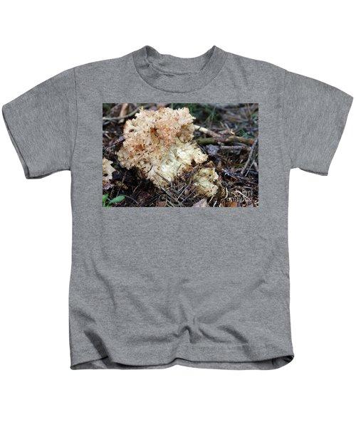 Cauliflower Fungus Kids T-Shirt by Michal Boubin