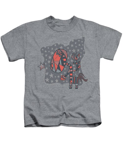 Conversation Kids T-Shirt by Neku Irodan
