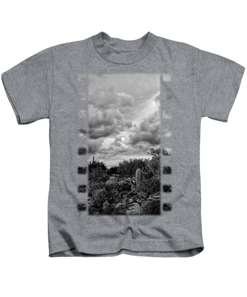 Desert In Clouds V15 Kids T-Shirt by Mark Myhaver