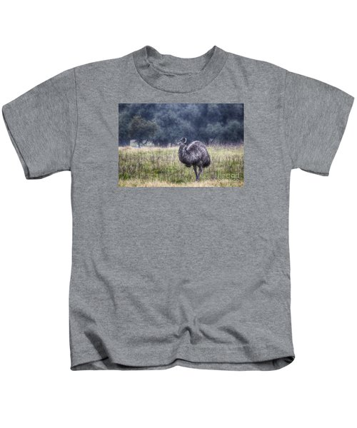 Early Morning Stroll Kids T-Shirt by Douglas Barnard