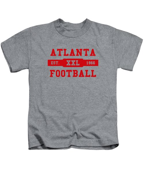 Falcons Retro Shirt Kids T-Shirt by Joe Hamilton