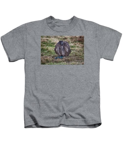 Feeling Kinda Broody  Kids T-Shirt by Douglas Barnard