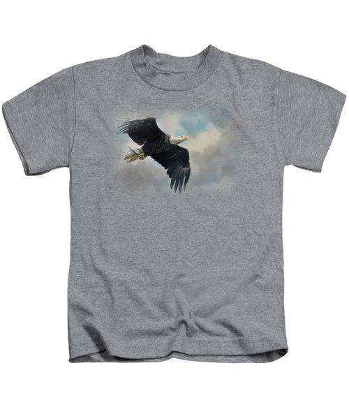 Fish In The Talons Kids T-Shirt by Jai Johnson