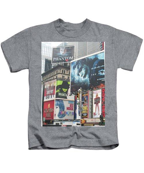 George M Kids T-Shirt by David Jaffa