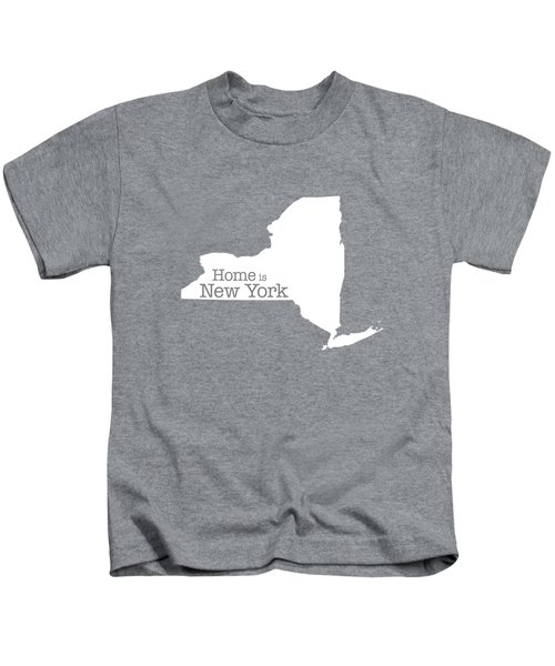 Home Is New York Kids T-Shirt by Bruce Stanfield