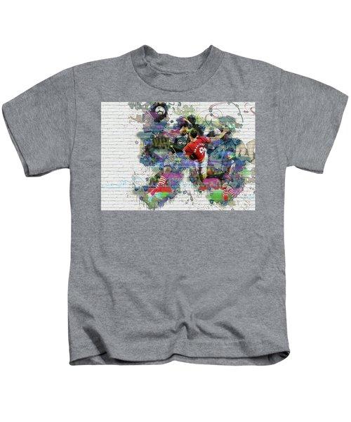 Ibrahimovic  Kids T-Shirt by Don Kuing