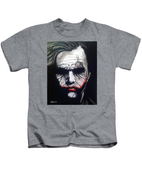 Joker Kids T-Shirt by John Svedese