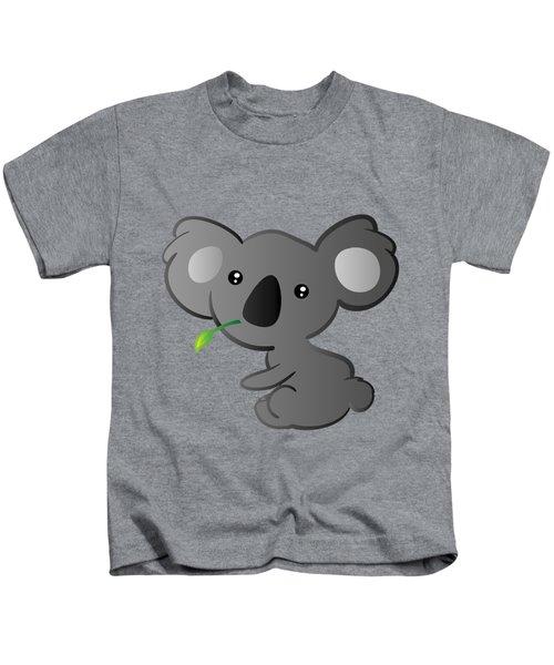 Koala Kids T-Shirt by Hadeel ArT
