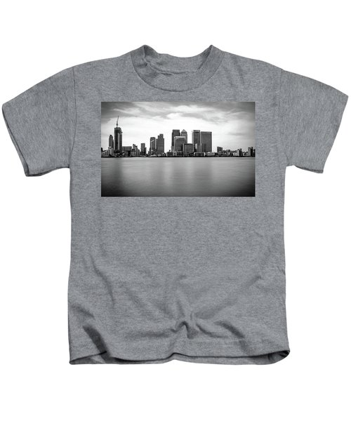 London Docklands Kids T-Shirt by Martin Newman