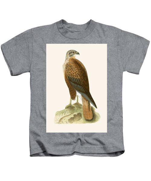 Long Legged Buzzard Kids T-Shirt by English School