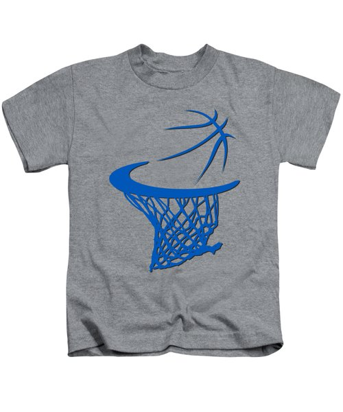 Magic Basketball Hoop Kids T-Shirt by Joe Hamilton