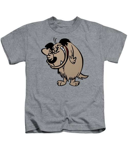 Muttley Kids T-Shirt by Ian King
