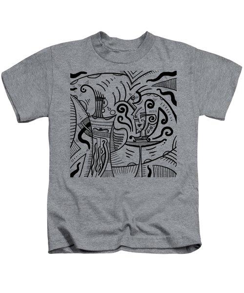 Mystical Powers Kids T-Shirt by Erki Schotter