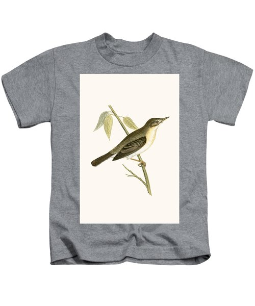 Olivaceous Warbler Kids T-Shirt by English School