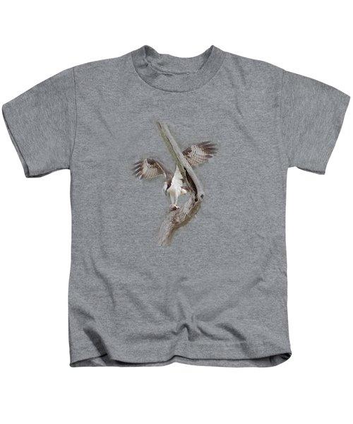 Osprey Tee-shirt Kids T-Shirt by Donna Brown
