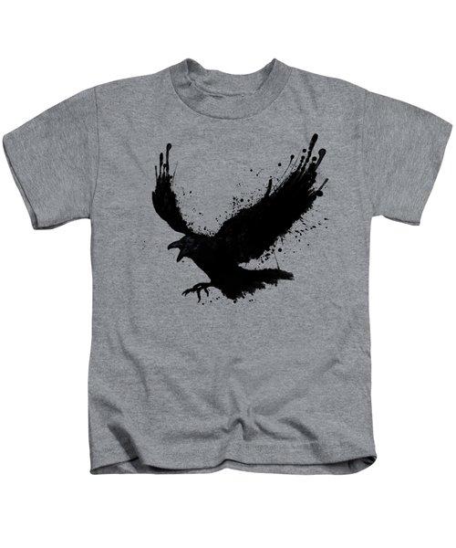 Raven Kids T-Shirt by Nicklas Gustafsson