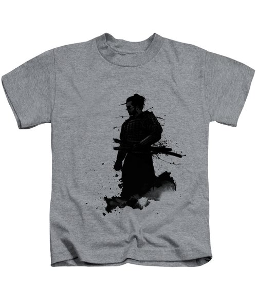 Samurai Kids T-Shirt by Nicklas Gustafsson