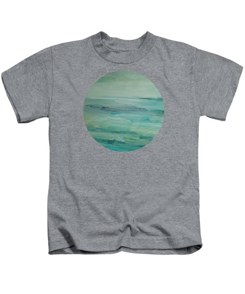 Sea Glass Kids T-Shirt by Mary Wolf