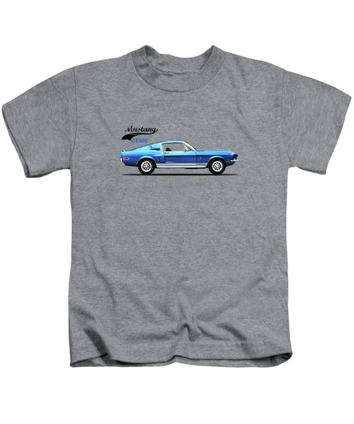 Shelby Mustang Gt500 1968 Kids T-Shirt by Mark Rogan