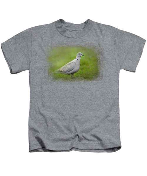 Spring Dove Kids T-Shirt by Jai Johnson
