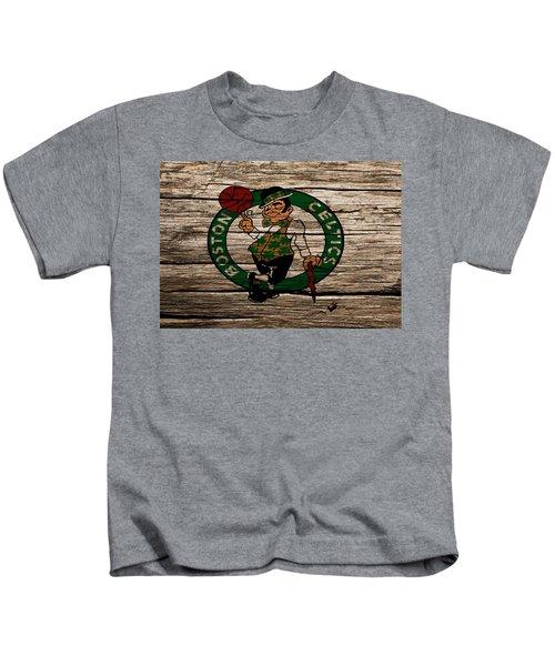 The Boston Celtics W1 Kids T-Shirt by Brian Reaves