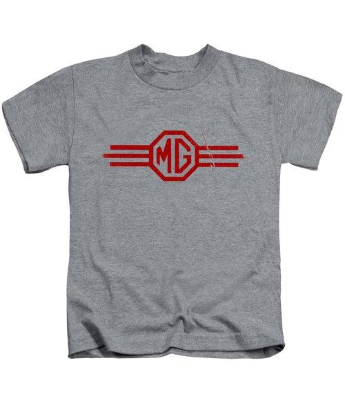 The Mg Sign Kids T-Shirt by Mark Rogan