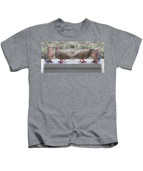 Together For Life Kids T-Shirt by Betsy Knapp